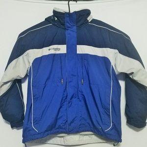2 PC Columbia Mens XL Bugaboo Coat & Fleece Jacket